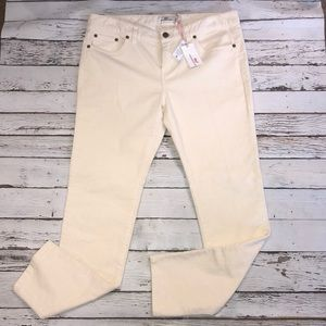 Vineyard Vines Cords Color is Frost (cream) NWT